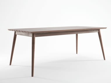 Scandinavian style teak garden table VINTAGE OUTDOOR | Scandinavian style table
