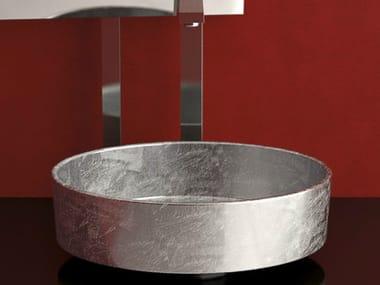 Countertop round washbasin RHO LUX
