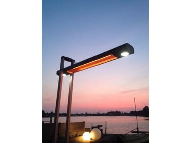 Infrared freestanding and foldable heater BALI