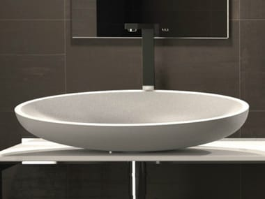 Countertop oval washbasin KOOL XL