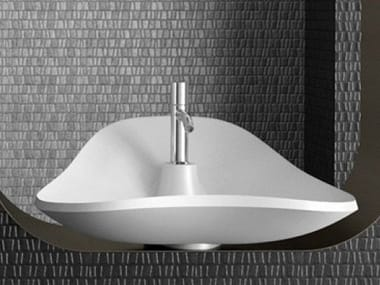 Countertop single washbasin MORPHEO MAX