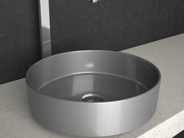 Countertop round washbasin RHO STARLIGHT