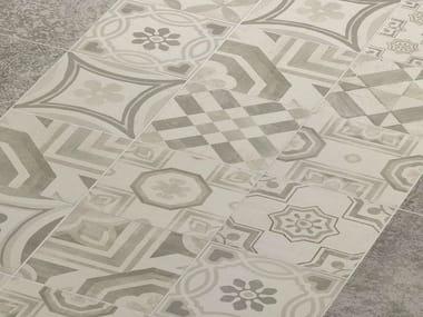 Pavimento in gres porcellanato CEMENTINE COLD