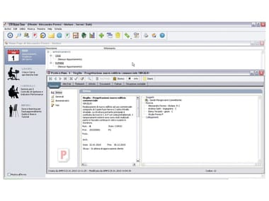 إدارة المكتب، تخزين البيانات / الرسوم المهنية والتسعيرة STR VISION TIME