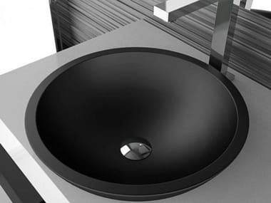 Inset round washbasin CIRCUS 50 FL