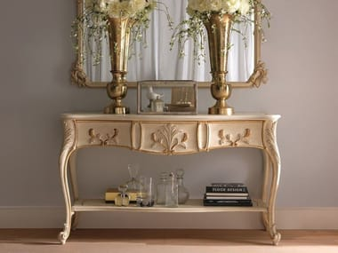 Wooden console table with drawers 2490 | Console table with drawers
