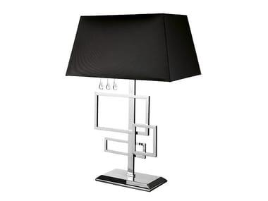 Brass table lamp FRAME MEDIUM