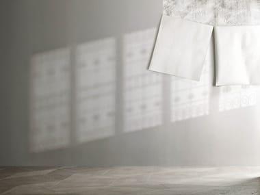 Woven vinyl wallpaper LUCI E OMBRE