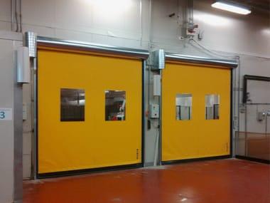 باب بطي أفقي سريع High speed roll doors
