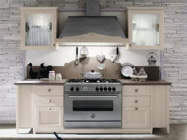 Linear wooden kitchen EVERY DAY | Kitchen
