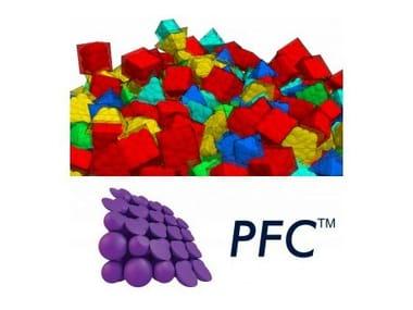 Processing geotechnical, penetrometer test PFC 2D e PFC 3D