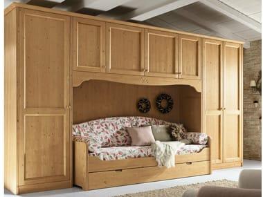 Camera da letto in legno in stile country EVERY DAY NIGHT ...