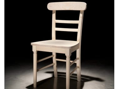 Wooden restaurant chair PROVENZA