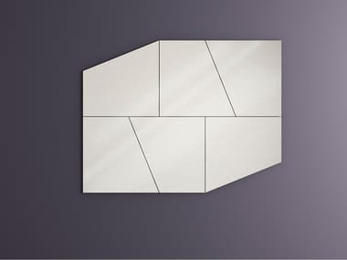 Wall-mounted mirror SLIDE | Mirror