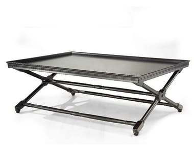 Lacquered rectangular coffee table for living room HABANA | Lacquered coffee table