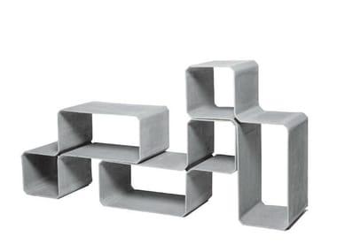 Cement garden cabinet TETRIS