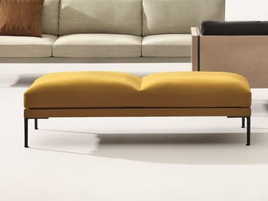 Upholstered backless bench seating STEEVE | Bench seating