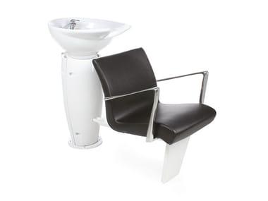 Shampoo basin GRALUOTIS ECOBLACK