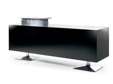 Reception desk BLACK TORIX