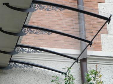 Modular acrylic glass door canopy LIBERTY LT-01