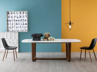 Lacquered living room table MEDLEY | Lacquered table