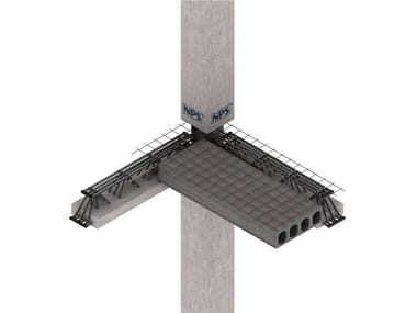 Mixed steel-concrete beam and column NPS® CORE