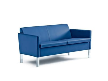 Leather sofa LOUNGE | Sofa