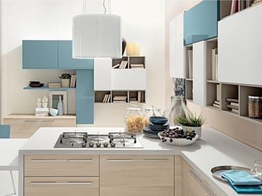 Lacquered fitted kitchen SWING | Fitted kitchen