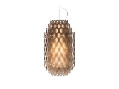 LED Cristalflex® pendant lamp CHANTAL