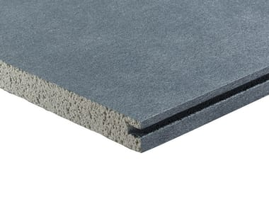 Sound insulation and sound absorbing panel in mineral fibre Mikropor G