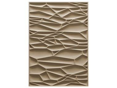 Patterned rectangular rug DRY