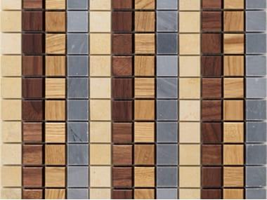 Wooden mosaic CADENCE