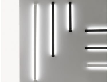 Indirect light aluminium wall light PIVOT | Wall light