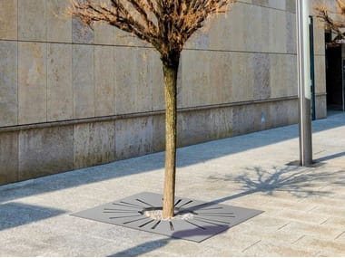 Griglia per alberi in acciaio SUNNY | Griglia per alberi