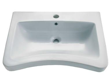 Lavabo sospeso in porcellana STYLE 47 | Lavabo