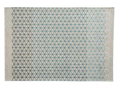 Tappeto rettangolare a motivi geometrici APOTEMA