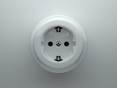 Single electrical outlet DØ | Electrical outlet