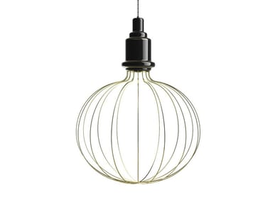 Direct-indirect light ceramic pendant lamp EDISON BIG B | Pendant lamp