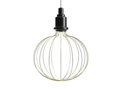 Direct-indirect light ceramic pendant lamp EDISON BIG B | Pendant lamp