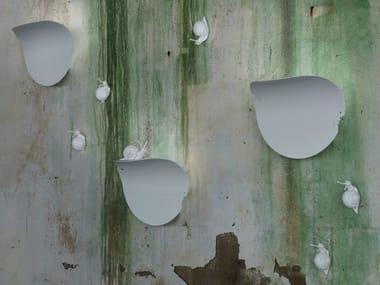 Luminária de parede de alumínio VA.LENTINA