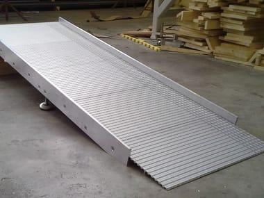 Rampa d'accesso in alluminio Rampa d'accesso in alluminio