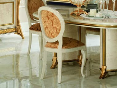 Upholstered restaurant chair MELODIA | Chair