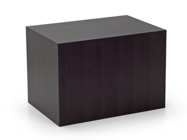 Rectangular bistro side table PIPEDO | Wooden coffee table