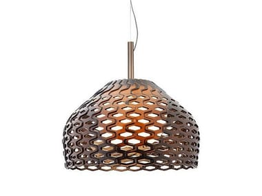 Polycarbonate pendant lamp TATOU S2