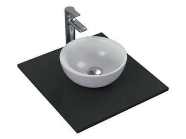 Vasque à poser rond simple en céramique STRADA - K0793
