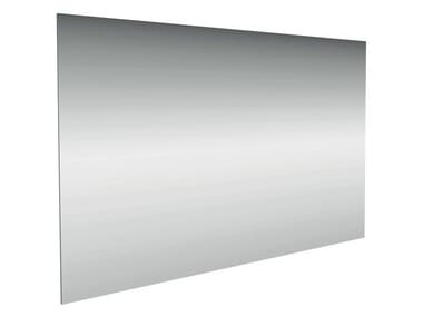 Rectangular wall-mounted bathroom mirror CONNECT 130x70x5 cm - E6536
