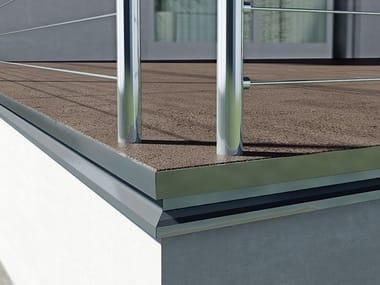 Modular system for raised flooring Easy Drop