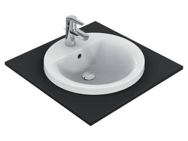 Vasque à encastrer rond CONNECT 48 x 48 cm - E5042