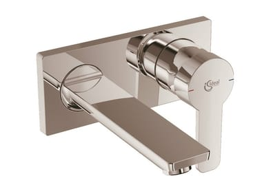 Wall-mounted single handle washbasin mixer GIÒ - A6107