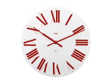 Wall-mounted ABS clock FIRENZE